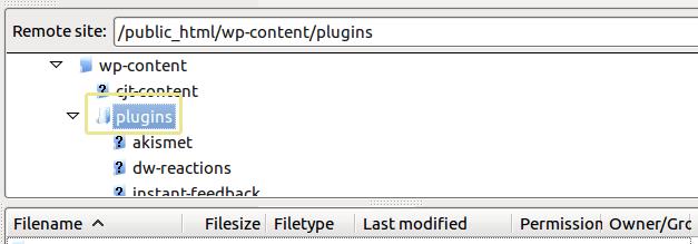 wp-content Eklentiler