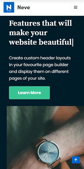 Neve - En İyi Ücretsiz WordPress Temaları